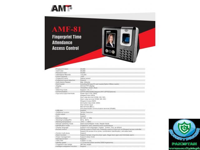 AMF-81 (Facial Atendance Machine)